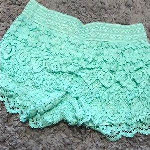 Pants - Crochet shorts